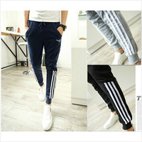 top fashion 2014 New men pant outdoor sport harem pants slim fit joggers hip hop jogging long sweatpants trousers man