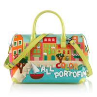 Braccialini women's handbag personalized handbag messenger bags hot-selling of fashion handbags all colors portofino MBB
