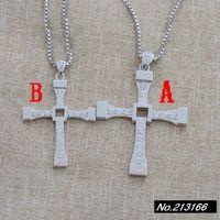 925 Pure Silver  Thai silver.Cross. Box chain. Men pendant + necklace xh039068w