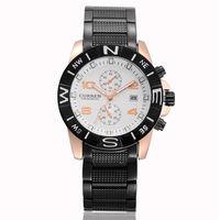 2014 New Fashion Brand Curren Waterproof Stainless steel Watch Clock Men Quartz Dress Watch For Man Casual Wristwatch