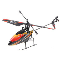 Free shipping  2.4G 4CH R/C metal toy Helicopter With GYRO RC