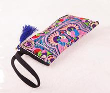 Frete Grátis saco das mulheres , National Retro bolsa bordado , estilo Phoenix Flor Bolsa China(China (Mainland))