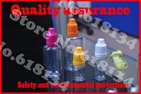 Wholesale Free Shipping child dropper bottle PET 10ml plastic dropper bottle, 100pcs/lot, eye drops E-cigarette