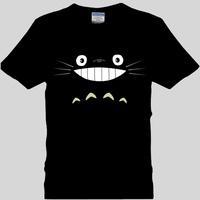 Cartoons totoro t-shirt lovers short-sleeve plus size plus size short-sleeve T-shirt Large t class service