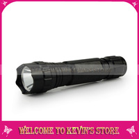 Cree 502B T6 aluminum 1000LM waterproof police flashlight with carry clip high quality climbing equipment