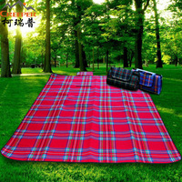 2014 outdoor thickening moisture-proof tent beach MATS waterproof picnic mat picnic blanket