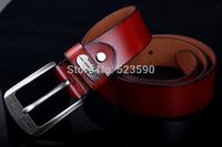 NEWEST!Designer Fashion Cowskin Genuine And Fiber Famous Brand Leather Men Belts For Men,Strap Male Pin Buckle,Hip Jeans Belts