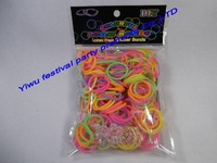 free shipping New Style  pearl DIY Loom bands Kit Refills For Kid china pearl rubber loom bands kit supplier