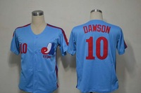 Montreal #10 Andre Dawson Jersey,Throwback Baseball Jersey,Top quality,Embroidery logos,Authentic Jersey,Accept Mix Order