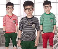 New 2014 autumn and winter kids baby boy long sleeve t shirt children fashion tees t shirt children outerwear kids clothes