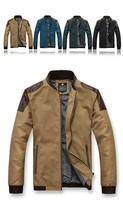 New 2014 autumn men PU leather jacket casual men outerwear fashion coat plus size 5XL C032