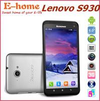 Lenovo S930 quad core 6.0 inch android phones MTK6582 1.3GHz IPS 1280x720 1GB RAM 8GB Dual SIM 8.0MP GPS WCDMA