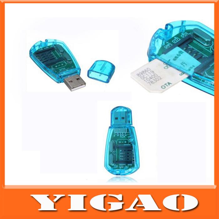Super SIM Card Reader for CDMA GSM Mobile Phone SMS Backup,SIM Card Device,SD Card CDMA,USB to Sim Card Reader Support ICQ MSN(China (Mainland))