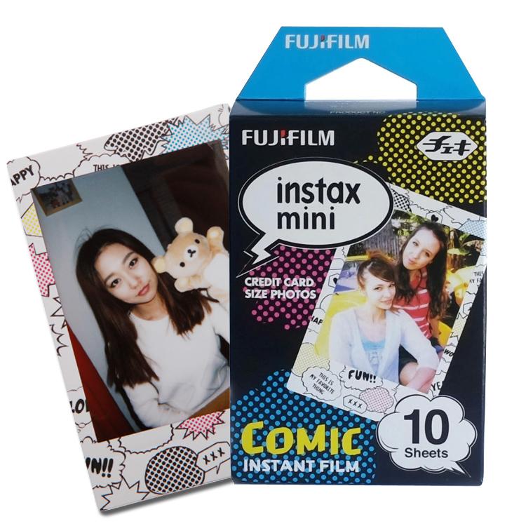 instax film 2014 Fuji polaroid photo paper for all mini camera free shipping photo paper polaroide mini film camera cartoons(China (Mainland))