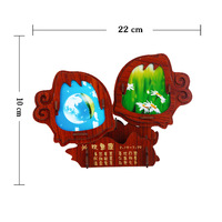 The zodiac annatto and bamboo Pisces  that Pisces 3 d puzzle   kids   toys