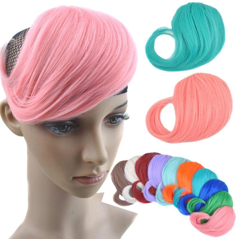 Hair on it Side Style Side Fringe Design Hair