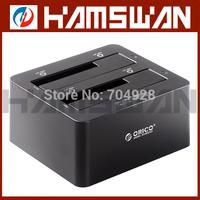 ORICO 6629US3-C SATA SSD Hard Drive HDD Duplicator Dock - USB 3.0 Hard Disk Drive Duplicator - 2.5 / 3.5-Inch Hard Drive Cloner