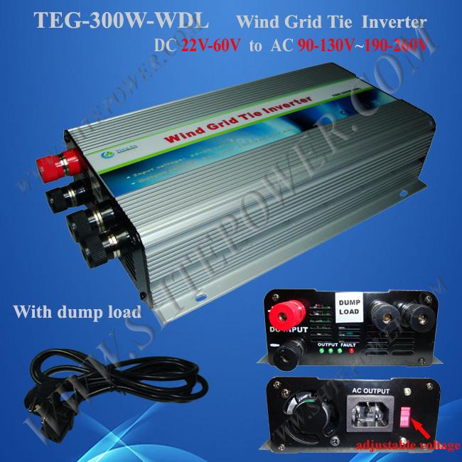 300w micro inverter wind grid tie inverters 300w dc ac inverter(China (Mainland))