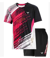 Korea 2014 New VICTOR Badminton Clothes Men  Victor Tennis sports wear Athletic Wear