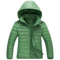 M-3XL Woman's Outerwear Hooded Down Jacket Fashion Winter Warm Down Coat For Women Super Light White Duck Down 90% JK-292