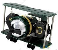 Free Shipping!Brand Quality Home Decor Plane Flip Clock Metal+PVC+Quartz movement HY-F029
