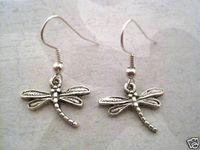 24pair *DRAGONFLY* Tibetan Silver Earrings SP XMAS GIFT 3cm K01114