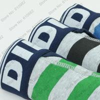 3 pcs/lot Sexy Fashion Men Underwear Cotton Best quality brand Boxers Shorts cueca Mix color Black Blue Green