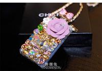Hot Sale 2014 New Fashion Bling Bling Diamond Perfume Bottle Phone Case Luxury Diamond Mobile Phone Case