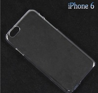 New Hard Plastic clear crystal transparent back cover cases For iphone 6,4.7inch