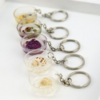 Free Shipping Creative Crystal Bowl key chain/food container key ring/lovely bowl with spoon/great gift,30pcs/lot,CY-K04