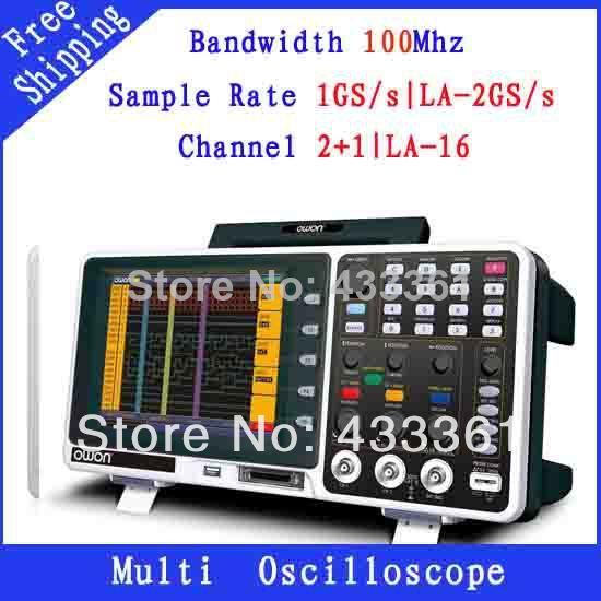 Осциллограф OWON 100 1GS/s 2 MSO7102TD 8.0' осциллограф owon hds1021m