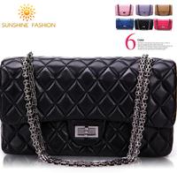 High quality Women's handbags famous brand CC plaid women cross-body shoulder bag female genuine leather handbag messenger bags