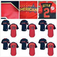 freeshipping Cincinnati Reds 21 Todd Frazier/Devin Mesoraco 2014 All Star Baseball jerseys/shirt /sportswear