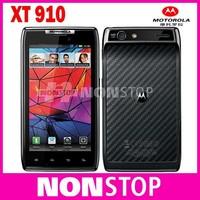 "Original  Unlocked Motorola RAZR XT910 / XT910 MAXX Phone 4.3"" Android OS 1GB+ 16GB ROM Camera 8MP Mobile Phone"