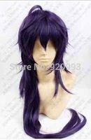 FREE SHIPPING **Hot sell !! Free shipping Magi Sinbad Purple Mix Long Straight Cosplay Wig