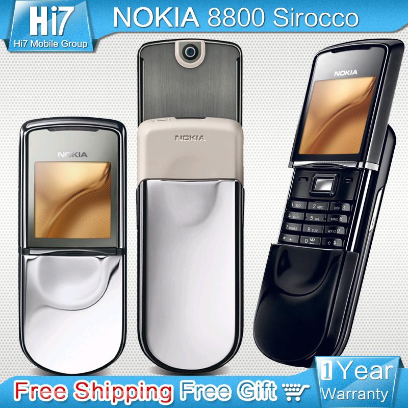 nokia 8800 The enhancement wear-resistant screen calculator, calendar, radio, books, alarm calendar cellphones free shipping(China (Mainland))
