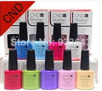 73 Summer Colors Available 6Pcs/lot Hot Sale CND Shellac Soak Off UV LED Nail Gel Polish The Best Gel Polish