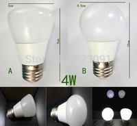 E27 4W SMD2835 (Equivalent to 35W incandescent lamp) 270LM 3000-3500K Warm White 6000-6500K Natural White Light LED Spot Bulb