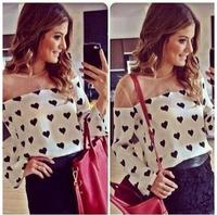 Hot selling !!2014 New spring Fashion women blouse Casual Shirt Loose Fit Long Sleeve Blusas femininas Free Shipping