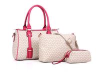 3 Piece/lot New 2014 Famous Brands Women Messenger Bags Fashion Lady Classic Handbag PU Leather Shoulder bag Free Shipping
