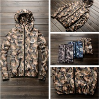 Outdoor jacket male Camouflage clothing thin waterproof windproof jacket sunscreen hoodie