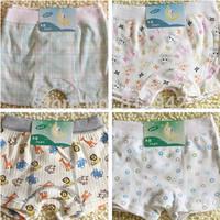 Baby 100% Cotton Underwear Child Panties Bread Under BB Underwears Pants Boys Triangle Kids Children Briefs, Mixcolor,6pcs/lot