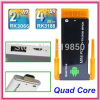 CX-919II CX-919 II uad Core RK3188 Dual Wifi Antenna Bluetooth Android 4.2.2 RAM 2GB ROM 8GB Dongle Mini PC Stick TV Box