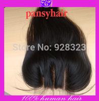 5x5 Bleached Knots PansyHair 3 Part Closure Free Part  Middle Part Lace Front Closure peruvian Lace Closure Human Hair