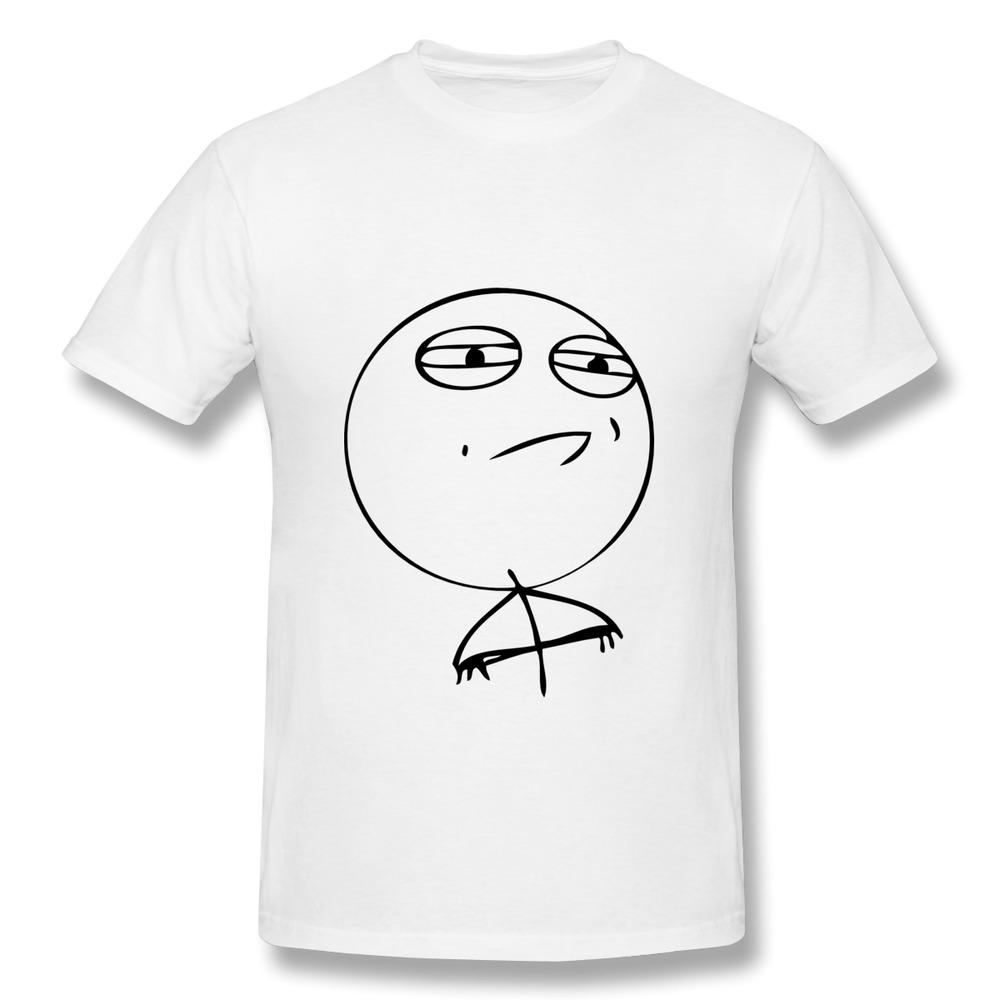 2014 Summer 100% Cotton T-Shirt Men's Challenge Accepted - 4 pane comic Custom Txt Men T Shirts Short-Sleeve(China (Mainland))