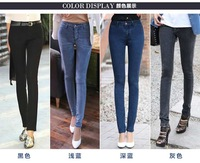 Free shipping , fashion high quality brand New Women High Waist jeans ,2014 new arrival men jeans Plus size 26-32