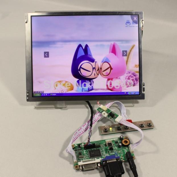 DVI+VGA controller board+10.4inch TM104SDH01 800*600 Lcd screen(China (Mainland))