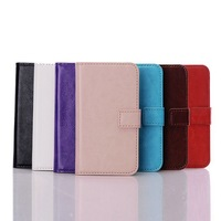 High-Quality Senior Leather Wallet Filp Pouch Phone Case Cover Holster For Samsung GALAXY Express 2 G3815 B1300