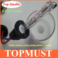 Free Shipping 2pcs Best Quality Xenon HID Light Bulb H1 H3 H7 9005 9006   with Ceramic Socket 35W 3000K 4300K 6000K 8000K 12000K