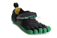hot sale 5 fingers men women toe hiking shoes magic button outdoor climbing shoe sports Runner jogger sneakers flag 07214